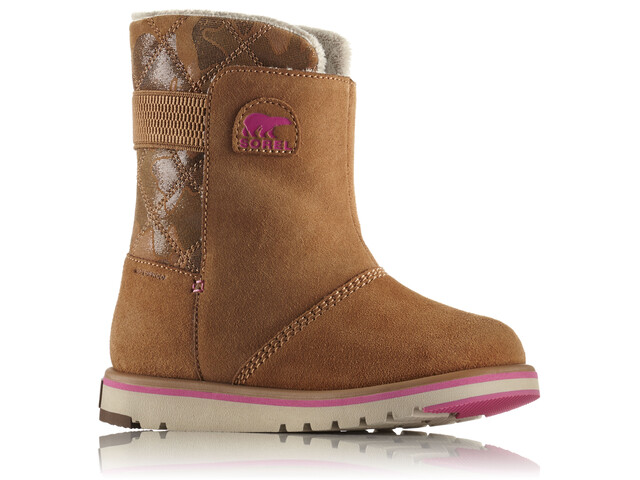 Sorel Rylee Boots Youth Elk/Pink Ice